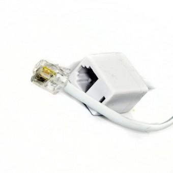Telefonkábel hosszabbító 4.5M (fehér)