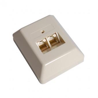 ISDN 8P8C dupla fali csatlakozó