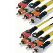 6RCA - 6RCA 5.1 kábel 1.5M