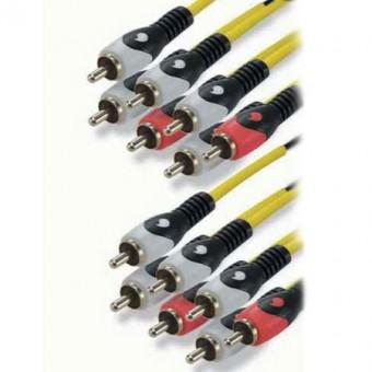 7RCA -7RCA H.CINEMA kábel 6.1 2M