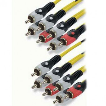 7RCA -7RCA H.CINEMA kábel 6.1 5M