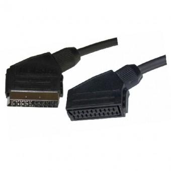 SCART dugó - SCART aljzat kábel 1.5M