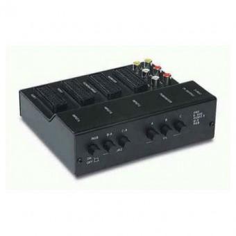Audio-video csatlakozás adapter 4SCART + 6RCA