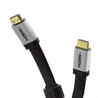 HDMI kábel dugó - 2 DVI-D aljzat GOLD 0.2M