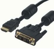 HDMI dugó - DVI-D dugó 18+1 PIN 20M