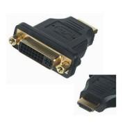 HDMI adapter dugó - DVI D aljzat 24+5