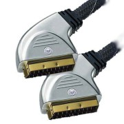 SCART - SCART kábel GOLD 0.75M