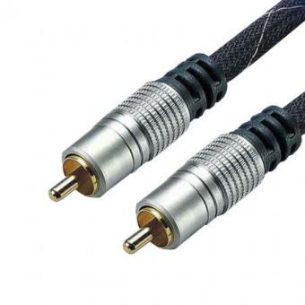 HT RCA dugó - RCA dugó kábel 50 OHM - 1.5M