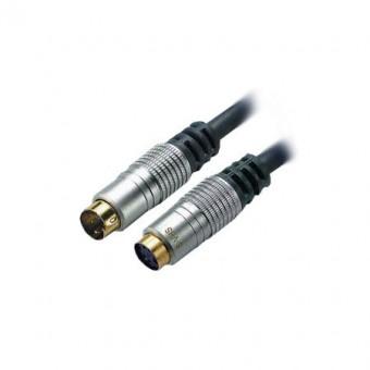 SVHS aljzat - dugó kábel házimozi 1.5m EDC