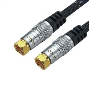 F dugó - F dugó kábel 2.5m