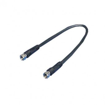 RG 59U F-F kábel fekete 10m