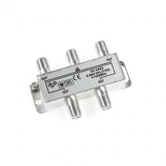 Splitter 4 kimenetes 5-1000MHz
