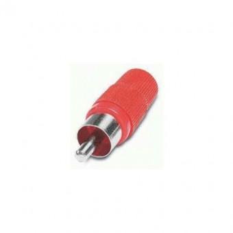 RCA csatlakozó dugó piros