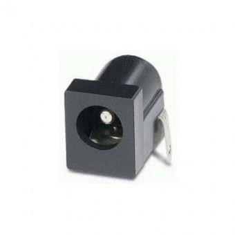 Tápellátási csatlakozó aljzat 2mm kábelszereléshez
