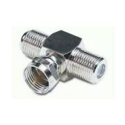 F dugó - 2xF aljzat adapter