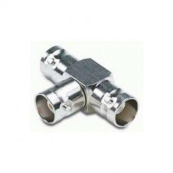 BNC aljzat - 2XBNC aljzat adapter