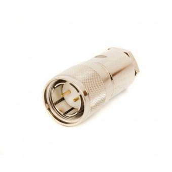 Kéttengelyu kábelcsatlakozó dugó (csatolható)
