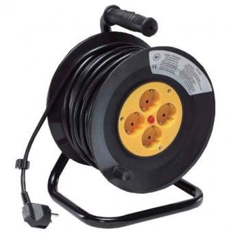 Hosszabbító kábel henger 4W 16A/250V - 25M