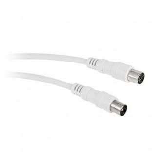 Fehér RF videokábel 20M