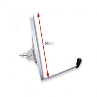 Parabolatükör 65 cm