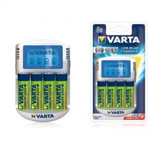 VARTA LCD kijelzos tölto 4xAA 2100 mAh