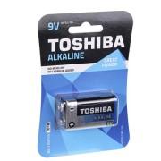 Alkáli elem 9V bliszter TOSHIBA