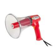 Hordozható megafon, piros