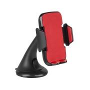 Autós okostelefon-tartó (piros-fekete)