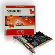 Hangkártya 6 csatornás 8738 INTEX