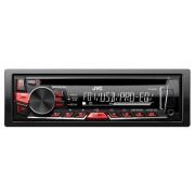 JVC KD-R461EY autós CD lejátszó, 4 x 50 W, 1DIN, USB, AUX, mélysugárzó vezérlo