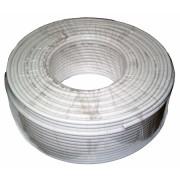 Koax kábel 3c2v fehér/m (100m/guriga)