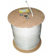 Koax kábel F690BV fehér 305m