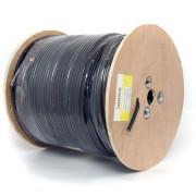 Koax kábel F690BV+ac fekete 305m