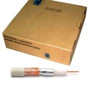 Koax kábel R-TV RG-59 fehér 200m