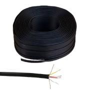 3RCA kábel, fekete