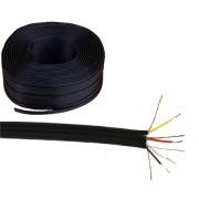 4RCA kábel, fekete