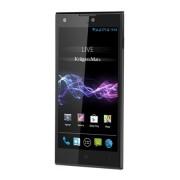 Krüger & Matz LIVE 2 LTE 4 GB fekete okostelefon