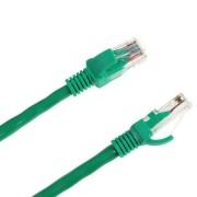 UTP kábel 5e, dugó-dugó 1m zöld