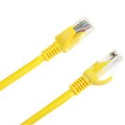 UTP kábel 5e, dugó-dugó 2m sárga