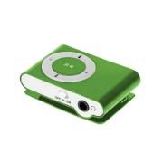 Quer kártyaolvasós mini MP3 lejátszó -zöld
