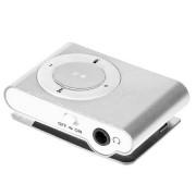 Quer kártyaolvasós mini MP3 lejátszó (ezüst)