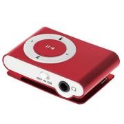 Quer kártyaolvasós mini MP3 lejátszó -bordó