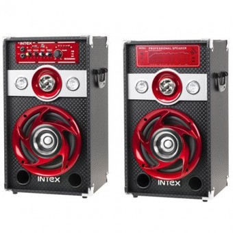 Intex DJ Professional hangfal 2x30W FM/SD/USB