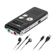 Digitális diktafon 8GB QUER