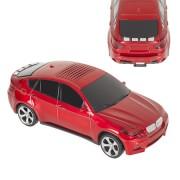 Autó alakú hangszóró USB/TF kártya/AUX/FM rádió/LCD MP3