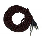 Mikrofon kábel CANON+JACK
