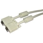 DSUB/DSUB M/M kábel VGA+FILTER