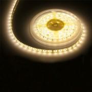 Vízálló meleg fehér LED szalag 5m