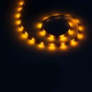 Sárga vízálló LED szalag 1m (30x5050SMD)