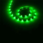 Vízálló zöld LED kábel 1m
